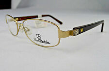 Renato Balestra Eyeglass Frames RB011 Women's Gold Glasses RX-able MSRP $138 ZH