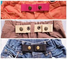 ADJUSTABLE SNAP BELT (B.) for Baby,Toddler Boy&Girl Pant DURABLE 3 pcs. 3 colors