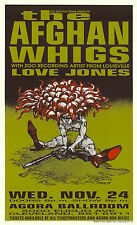 RARE Afghan Whigs 1993 Agora Cleveland Hess SIGNED Poster 110/125