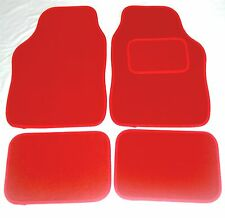 Red Car Mats For Citroen C1 C2 C3 C4 Saxo Vtr Vts Xsara