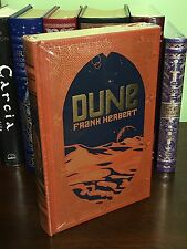 DUNE by FRANK HERBERT Leatherbound Collectible Book, BRAND NEW & SEALED!