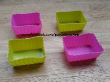 Rectangle Bento Tools Puto Jelly Cupcake Chocolate Baking Pan Molder Mold Cups