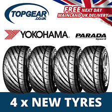 225/40/18 Yokohama Parada Spec 2 Tyres x4 (Set of) 2254018 92W- x4 New Tyres