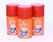 3 Glade AutoMatic Spray Refill Pumpkin Pit Stop Limited Edition Fall Collection