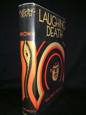 1932 THE LAUGHING DEATH WALTER C BROWN VERY GOOD W JACKET! GANGSTER MURDER NOVEL
