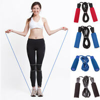 Professional Fitness Speed Jump Training Exercise Skipping Rope Gym Rope