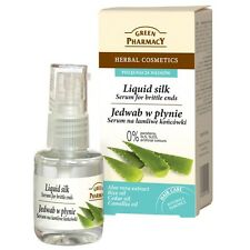 GREEN PHARMACY Haar Liquid Silk Flüssige Seide Serum 100% Aloe Vera 30 ml