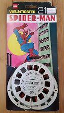 RARE SPIDERMAN MARVEL COMICS 1978 GAF VIEW MASTER REELS ORIGINAL VINTAGE BH 011