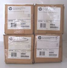 LOT OF 4 HP CR710A  Canvas textured Photo Paper 24in. x 100ft, **NEW**