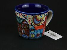Tasse Becher Pott XXL Keramik NEW  VILLAGE - made in India 2er-Set - Gall & Zick