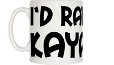I'd Rather Be Kayaking Mug