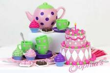 "Tea Party Set Pretend Play Toys for 18"" American Girl Dolls"