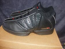 15M Reebok Basketball 4 Pointer Black/Flamenco Red/Armor~MENS ~NWB
