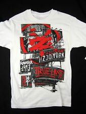 Zoo York True East Urban NYC short sleeve t shirt men's white size MEDIUM