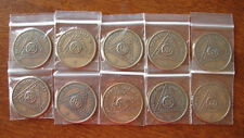Bronze AA NEW Medallions 11, 12, 13, 14, 15, 16, 17, 18, 19, 20 Years Lot of 10