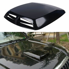 Car Decorative Air Flow Intake Hood Scoop Cover Universal,Black
