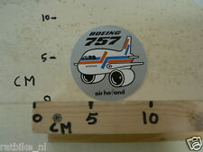 STICKER,DECAL AIR HOLLNAD BOEING 757 ROUND