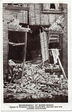 P.C Bombardment Of Scarborough House In Wykeham Street North Yorkshire Good Cond