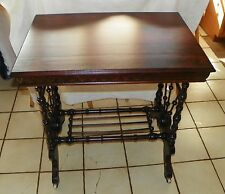 Mahogany Stick and Ball Parlor Table / Center Table  (T435)
