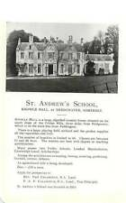 1947 School Bembridge Isle Of Wight St Andrews Bridgewater Ad