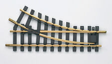 Piko  G scale right hand manual switch 35221 30 degree Garden Railway
