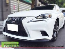 JD STYLE CARBON FIBER FRONT BUMPER LIP SPOILER FOR 2014+ IS250 w/ F SPORTS