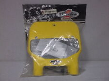 Yellow Cycra Vented Front Number Plate for 1999-2000 Suzuki RM125 & RM250 - NEW!