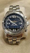 Breitling B-1 Superquartz Chronometre A78362 B1 with box papers and extra links