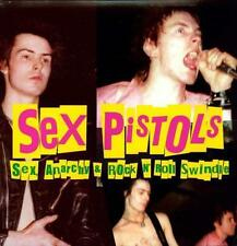 Sex Pistols - Sex, Anarchy & Rock N' Roll Swindle LP REISSUE NEW COLORED VINYL
