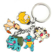 POKEMON KEYCHAIN Squirtle Psyduck Meowth Bulbasuar Charmander key chain JUST