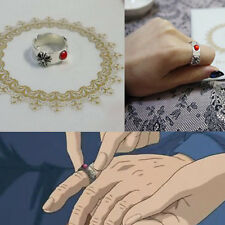 Anime Howl's Moving Castle Hauru Ring Cosplay Prop Handmade Gift