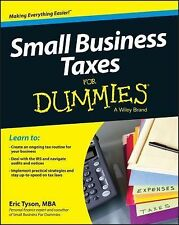 Small Business Taxes for Dummies by Eric Tyson (2014, Paperback)