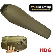 BRITISH ARMY CHALLENGER 150 MUMMY SLEEPING BAG -8 (2/3)TA CADET SAS SF HIKE FISH