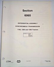 Case DIFFERENTIAL ASSEMBLY Service Manual (used in 1190 1290 1390 Tractors)