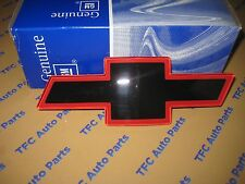 Chevy GMC Truck SUV Grille Bow Tie Emblem Red OEM New Check Fitment Guide!