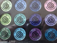 Cosmic Shimmer - IRIDESCENT WATERCOLOUR PAINTS - Set 5 GREENS & PURPLES