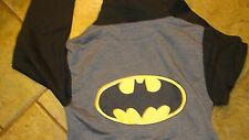 Batman , Official hoodie/ sweatshirt,zippered, small,med or large New with tag's