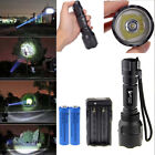 2000 Lumens Cree XML T6 U2 LED Flashlight Torch Lamp+2PCS Batteries+Charger