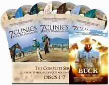 "7 Clinics with Buck Brannaman Complete Set Vols 1-7 + Bonus movie ""BUCK"""