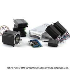 3-Axis NEMA23,34 Stepper Motor Kit (1x 1200 oz/in, 2x570oz/in, 3 Digital Stepper