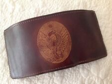 Trifold Wallet - USA Made - COBRA - REAL Cowhide Oak-Shoulder LEATHER