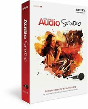 NEW Sony Sound Forge Audio Studio 10 for Windows Disk Included *USA SELLER*