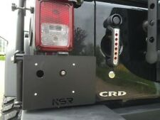 Support de plaque d'immatriculation jeep wrangler jk NSR avec éclairage led by KS 280x200 MM