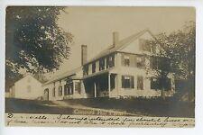 Concord Hill Farm NH? MA? Antique Photo RPPC ca. 1906