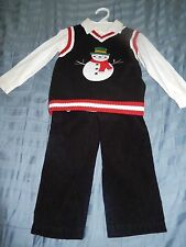NWOT Babies R' Us Boys Holiday 3 pc. set 24M/2T  Retail $34.99