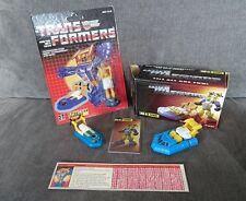 Lote De Transformers Seaspray Colección Spray Igear g1 ko-g1 Moc Excelente