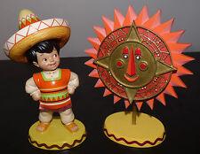 WDCC IT'S A SMALL WORLD MEXICO BIENVENIDOS + SUN WHEEL DISNEY FIGURINE NEW