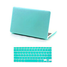 "Rubberized Hard Cover Case for Macbook Pro13/15"" Retina Air 11/13""+Keyboard Skin"
