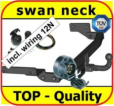 Towbar & Electric 12N Renault Clio II Hatchback 1998 to 2005 / swan neck Tow Bar