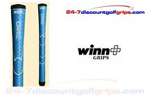 2015 Winn Dri-Tac Junior golf grips - blue